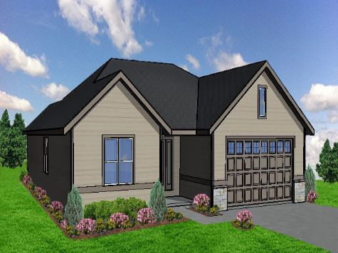 Home for sale in Kettle Creek North built by Trademark Homes.